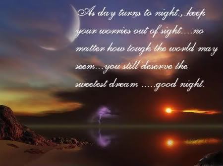 good night poem wallpaper Good Night Poem Wallpaper Card SMS