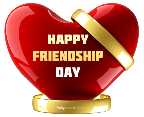 happy friendship day card wallpapers Friendship Day 2012 Heart Wallpaper Card & Message