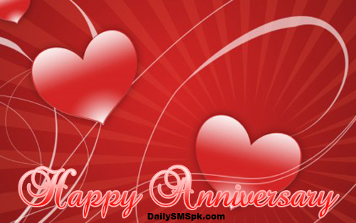 happy anniversary free red love heart wallpaper Anniversary Wallpapers and Wishes